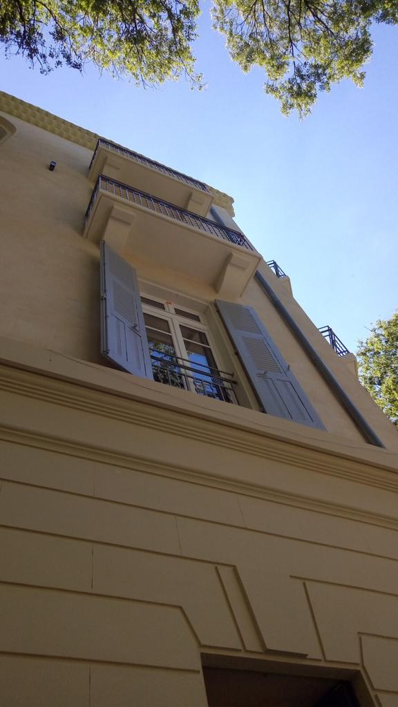 Rénovation de façades de l'hotel impérator maison albar nimes