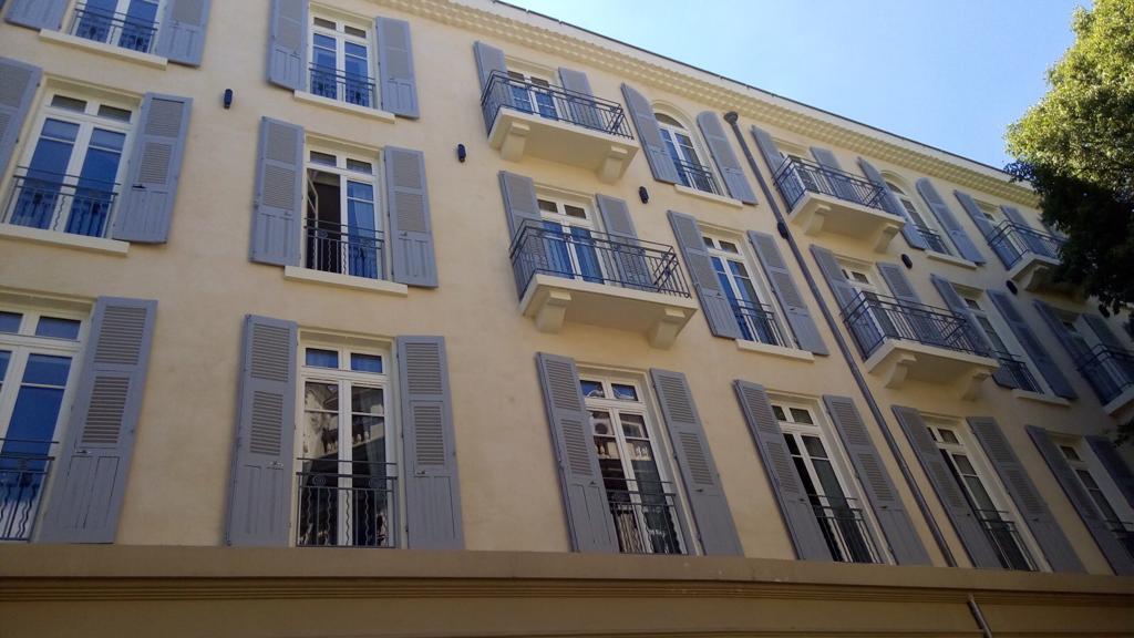 Renovation de façades à Nîmes