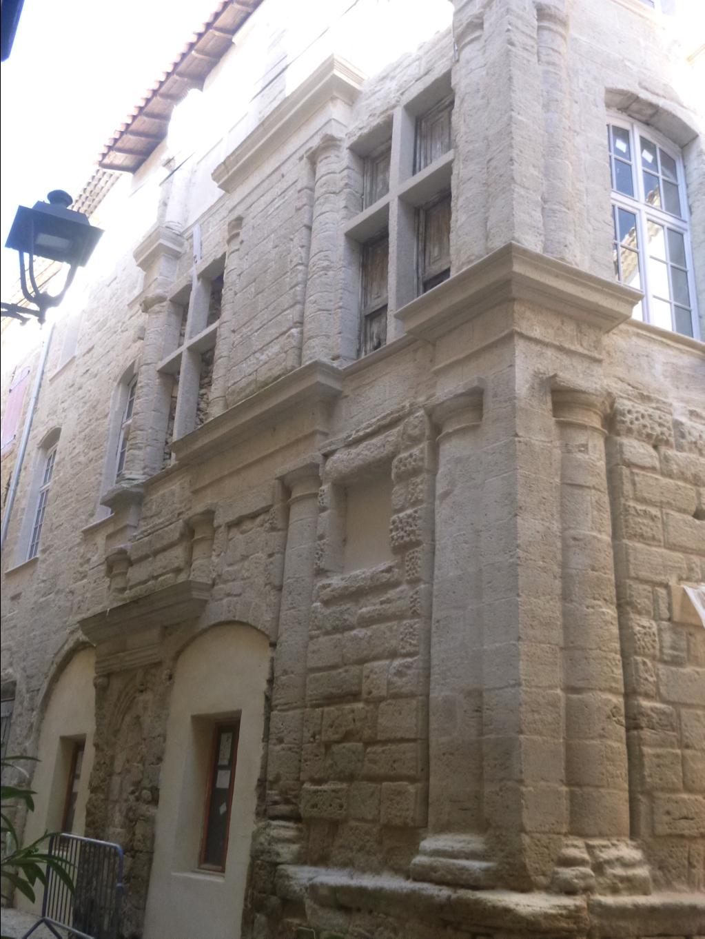 Rénovation de la maison de la Reine Jeanne à Pertuis