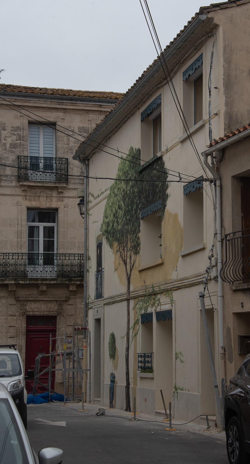 Rénovation de façades d'un immeuble de patrimoine